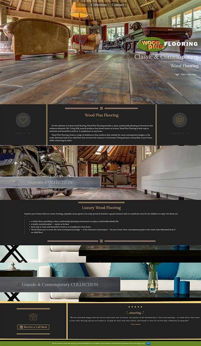 Wood Plus Flooring Full Website