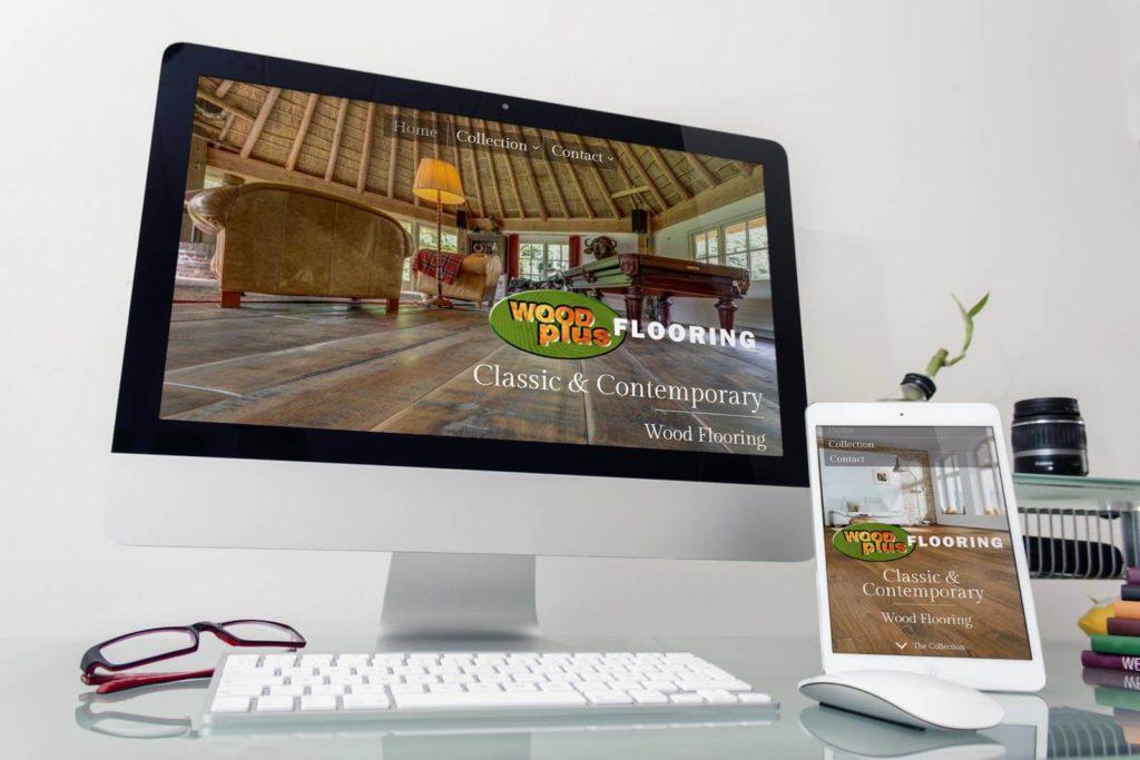 Wood Plus Flooring Website