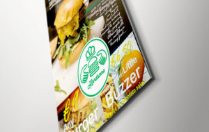 flyers for handsome burger and pizza m