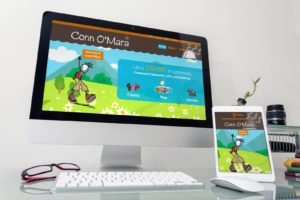 Conn O Mara Clifden on Mac and Ipad